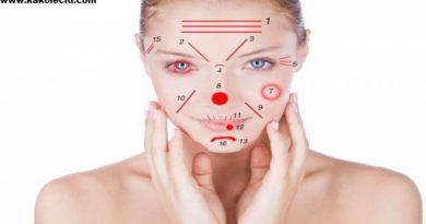 kakoleciti Lice i nokti zdravlje