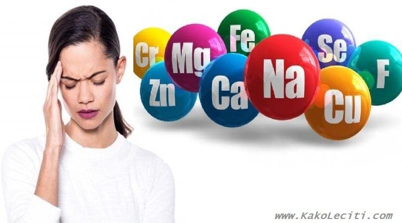 KakoLeciti_glavobolja i vitamini